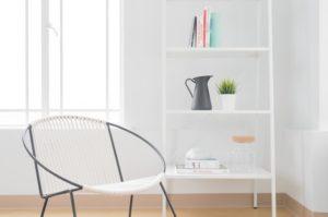 image of a restored livingroom