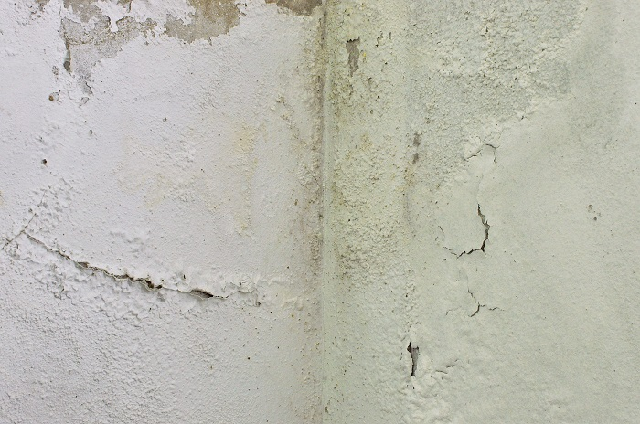 image of water damage on drywall