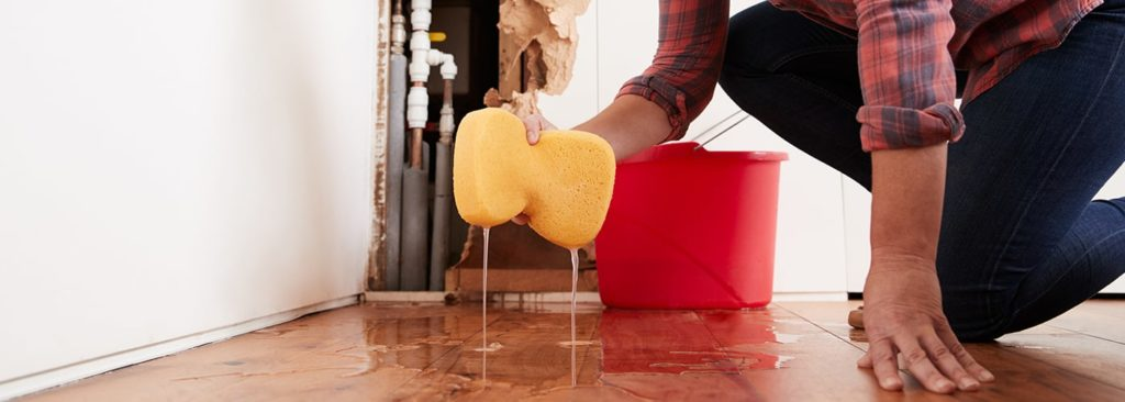 How to deal with water damage from home appliances